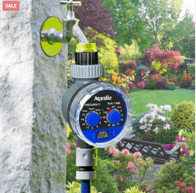 Water Your Plants With Watering Timer